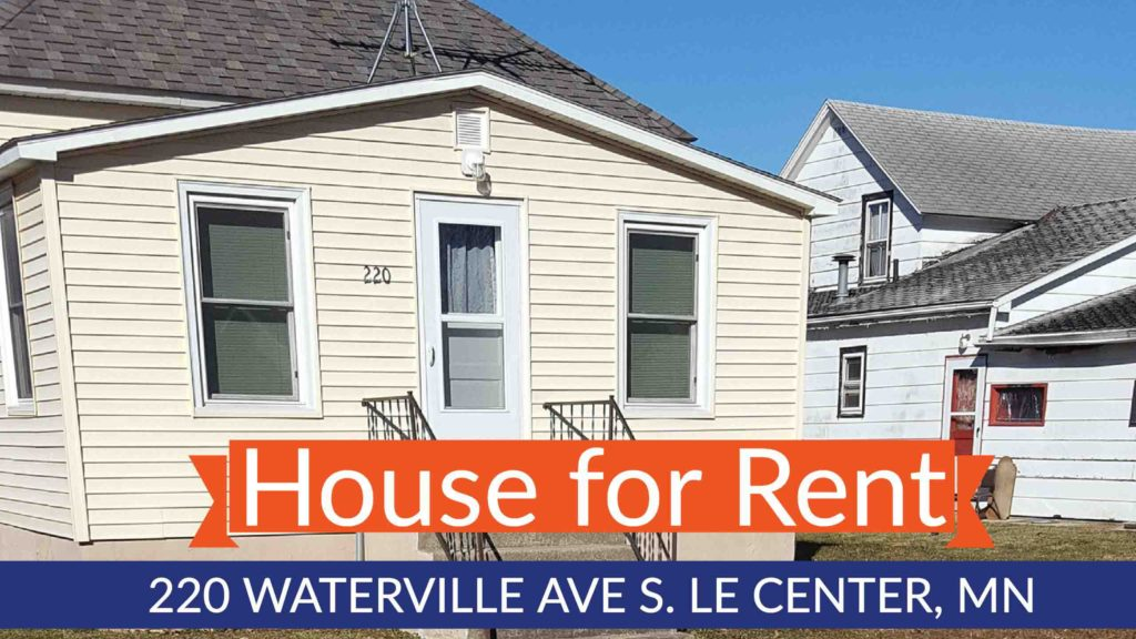 le center mn house for rent
